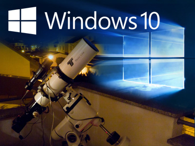 Astrosoftware auf Windows 10